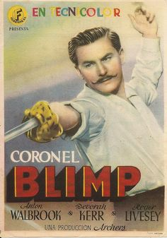 Programa de Cine - Coronel Blimp