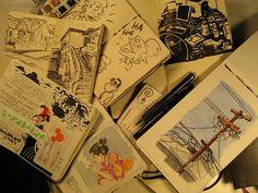 Moleskine Art Journal Explosion