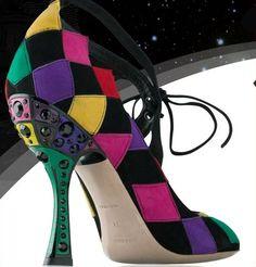Miu Miu harlequin shoe