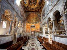 Basílica de San Clemente en Roma - http://www.absolutroma.com/basilica-de-san-clemente-en-roma/