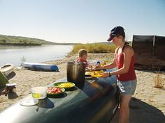 Clearwater Canoeing - guided canoe tours in #Saskatchewan