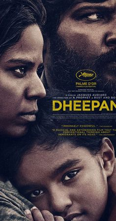 #Dheepan. What a beautiful film, about solidarity, love and building a new life - although its last-minute slide into action/crime undermines its initial, quiet work a tad. It also portrays the UK as some sort of promised land. Question is - is that fair enough, compared to the deprived banlieues of Paris? Rating ****