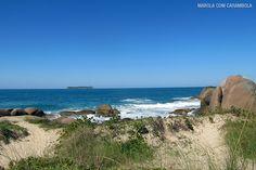 As praias do leste de Florianópolis