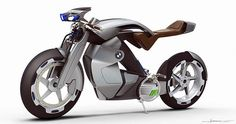 Electric BMW iR motorcycle concept  , - ,   The electric BMW...