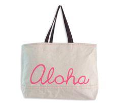 Mrs. Lilien's Loves: Meleana Aloha Tote in Pink | CoastalLiving.com