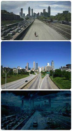 Reality and fiction...Atlanta.