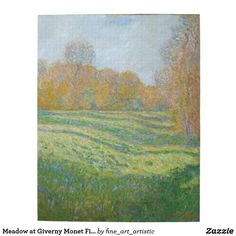 Meadow at Giverny Monet Fine Art Jigsaw Puzzle