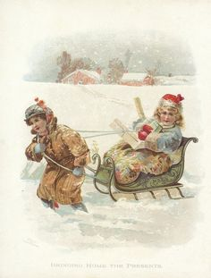 Victorian sled