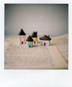Little houses | pretend it's polaroid week, little neighbors