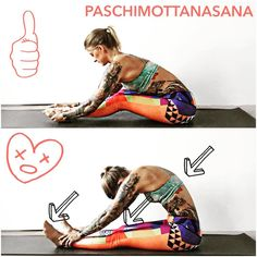 Instagram - paschimottanasana