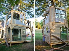 A Tree House That Can Be Your Second House Or Lovely Home Office Or Kids Playhouse