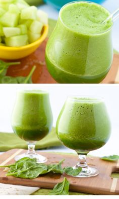 Green Energy Smoothies | Click Pic for 18 Healthy Green Smoothies to Lose Weight | Energy Smoothie Recipes for Breakfast