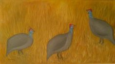 I love painting guinea-fowls. Many of my paintings are guinea-fowls. Love Painting, Artist Painting, Guinea Fowl, Paintings, Paint, Painting Art, Painting, Painted Canvas, Drawings