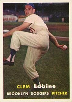 53 - Clem Labine - Brooklyn Dodgers