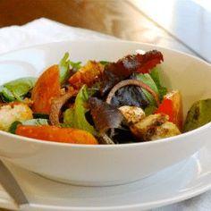 Simple Salad with Balsamic Vinaigrette