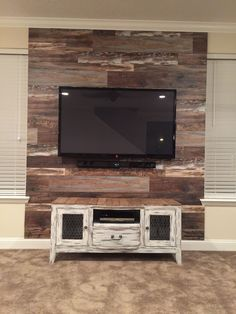 fetching sheetrock entertainment center. Reclaimed TV wall  beachhouse Tv WallsEntertainment CenterEntertainment System Inspiration photo of sorts for Jacq do something not so