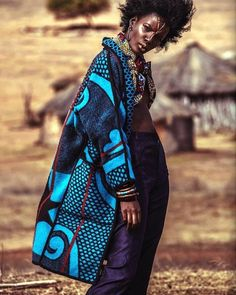 Dumela Clothing Co. produces Africa inspired non-gender clothing, made from locally sourced fabric such as the Basotho blanket. African Inspired Fashion, African Print Fashion, Africa Fashion, Ethnic Fashion, Ankara Fashion, African Prints, African Attire, African Wear, African Women