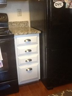 Granite Installed Now! More Information. More Information. Painted Bathroom  Cabinet Using Benjamin Moore Advance ...