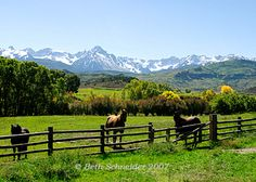 Gorgeous ranch, The Double RL (Ricky & Ralph Lauren) in some of God's most beautiful country (Colorado).