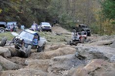 Buried deep in the Appalachia where Tennessee, Kentucky and Virginia converge, is Black Mountain Off-Road Adventure Area. Located in Harlan County, Kentucky this steep, boulder-strewn and heavily forested 4x4 park is a second home to buggies, Jeeps, Suzukis and beater trucks. It isn't the kind of place many rigs with intact full sized doors are to be found...