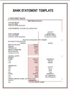 Bank statement bank america in 2018 fake documents pinterest bank statement template certificate templates resume templates word templates templates free bank maxwellsz