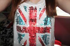 British flag tank ♡