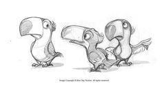 Rio characters concept art by san jun lee wao stuff in 2019 dier schetsen, Character Design Cartoon, Character Sketches, Character Design References, Character Drawing, Character Design Inspiration, Character Concept, Concept Art, Character Development, Animal Sketches
