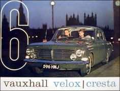 1964 Vauxhall Velox, Cresta - owned by my parents, I loved the huge rear bench seat
