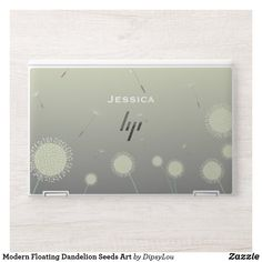 Modern Floating Dandelion Seeds Art HP Laptop Skin Dandelion Seeds, Hp Laptop Skin, Anniversary Quotes, Love Messages, Laptop Sleeves, Keep It Cleaner, Vibrant Colors, This Is Us, Bubbles