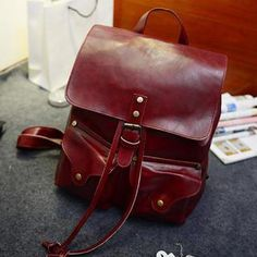 Buy 'Miss Sweety – Faux-Leather Drawstring Backpack' with Free International Shipping at YesStyle.com. Browse and shop for thousands of Asian fashion items from Taiwan and more!