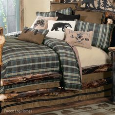 Country Living Hadley Plaid Cabin Comforter