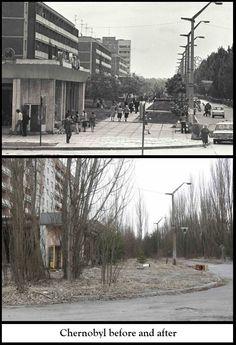 Voor en na de kernramp