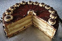 Mokka - Buttercreme - Torte