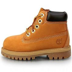 "Timberland 6"" Premium Toddler 12809 Wheat Waterproof Td Boots Shoes Baby Size 8"