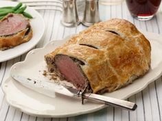 Make any day a special occasion by serving decadent Beef Wellington--tender slices of beef tenderloin wrapped in a flaky pastry crust.