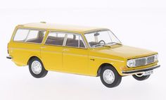 Whitebox Volvo 145 Diecast Model Car This Volvo 145 Estate Diecast Model Car is Yellow and has working wheels and also comes in a display case. It is made by Whitebox and is scale (approx. Model Cars Kits, Kit Cars, Volvo Wagon, Volvo Models, Diecast Model Cars, Station Wagon, Display Case, Scale Models, Cool Designs