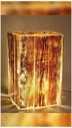 Woodworking Projects Diy, Diy Wood Projects, Wood Crafts, Diy Home Crafts, Diy Home Decor, Wooden Lamp, Wood Design, Diy Furniture, Handmade Wood Furniture