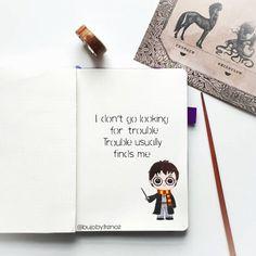 Part 65 spellbinding harry potter spreads! Bullet Journal Inspo, Bullet Journal Page, Bullet Journal Quotes, Bullet Journal Themes, Journal Pages, Journals, Journal Art, Harry Potter Journal, Cumpleaños Harry Potter