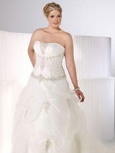 vestido de noiva gordinha plus size - Complicit Mariage Robe Cocktail