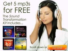 Bring out the tremendous power of your mind with the help of these audio tracks...for FREE!