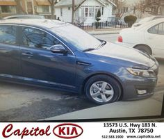 https://flic.kr/p/FgVvrT | Happy Anniversary to Deborah on your #Kia #Optima from Sean Wolf at Capitol Kia! | deliverymaxx.com/DealerReviews.aspx?DealerCode=RXQC