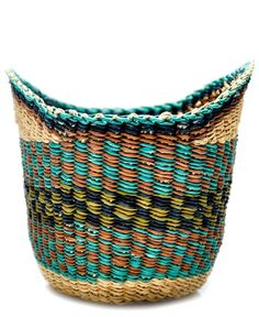 Handmade African Winged Woven Basket | LEIF