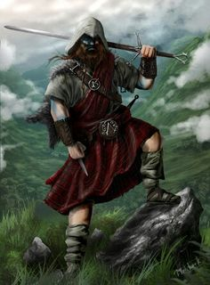 William Wallace as Assassin Creed