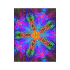 Beautiful Abstract Wrapped Canvas