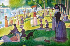 A Sunday On La Grande Jatte  Georges Seurat
