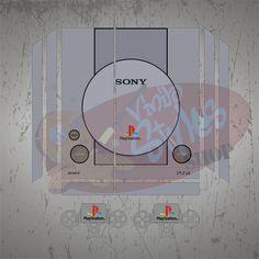 Vinilo Skin PS4 remember PS1