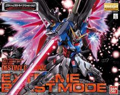 Destiny Gundam Extreme Blast Mode MG 1/100 - Gundam Toys Shop, Gunpla Model Kits Hobby Online Store, Diorama, News, Tamiya, Modo Paint, Bandai Action Figures Supplier