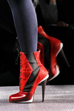Fendi booties. Pinned by VICKI VISEL