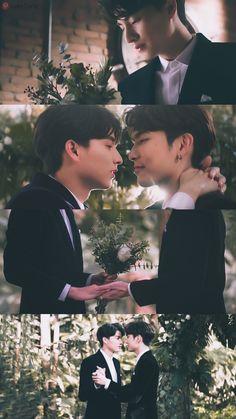 Bright Wallpaper, Couple Wallpaper, Gay Aesthetic, Cute Gay Couples, K Pop Star, Cute Actors, Thai Drama, Heechul, Fujoshi