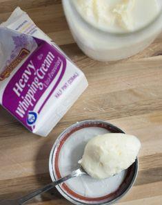 Science Fair: Homemade Butter